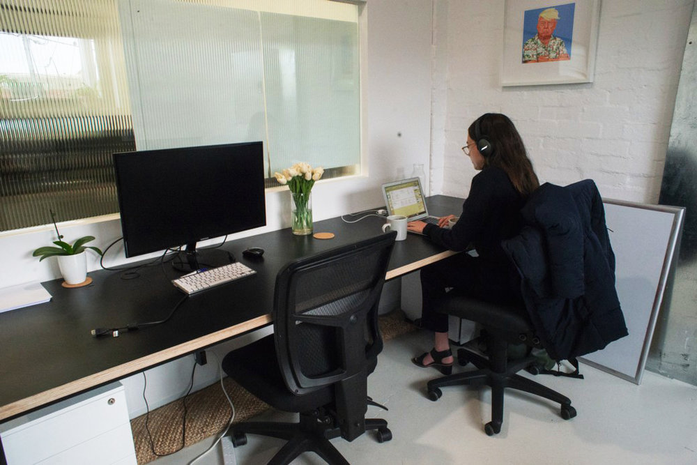 Private office - Need a bit more privacy for your work? This is for you. We have 2 private offices available at 397 Brunswick St. Please get in touch to secure before we go live. Each Private Office comes furnished with desks and chairs, and requires a 6 month minimum commitment.Private office sizes are 15sqm perfect for a team of 4 or just someone who likes their own space.From $2,500 Per Month