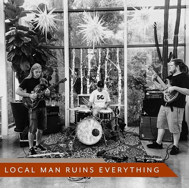 @localman_ruinseverything is so tight! The rock-jazz-fusion trio is gonna burn November 13th at Jones Assembly. Follow link in bio for full event lineup and tickets.