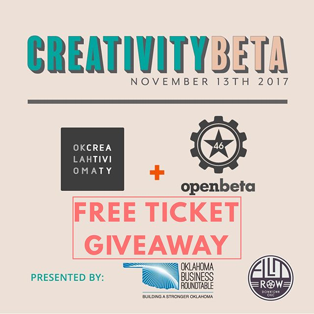 FLASH GIVEAWAY! We want to give out a total of 3 pairs of free tickets TONIGHT. TAG 2 FRIENDS IN COMMENTS BELOW for a chance to win FREE tickets to this incredible all-day event at tomorrow at Jones Assembly, the speaker and band lineup is amazing (Keynote Speaker from Google, Horse Thief, Lance McDaniel, and so many more). We couldn't be more excited for tomorrow. We will message random winners directly! creativitybeta.com