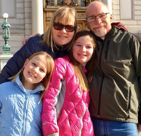 Bryan, Lisa, Olivia and Hannah