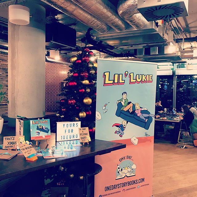 Let's do this! 😁 @wework #childrensbooks #kidlit #childrensbook #christmasgift #comicbook #giftideas #lillukie #tinytotofjustice @gerhankey @itschrisbrennan