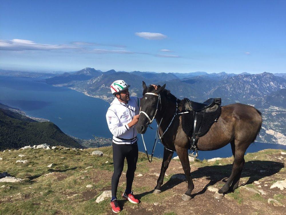 Reiten auf den Monte Baldo