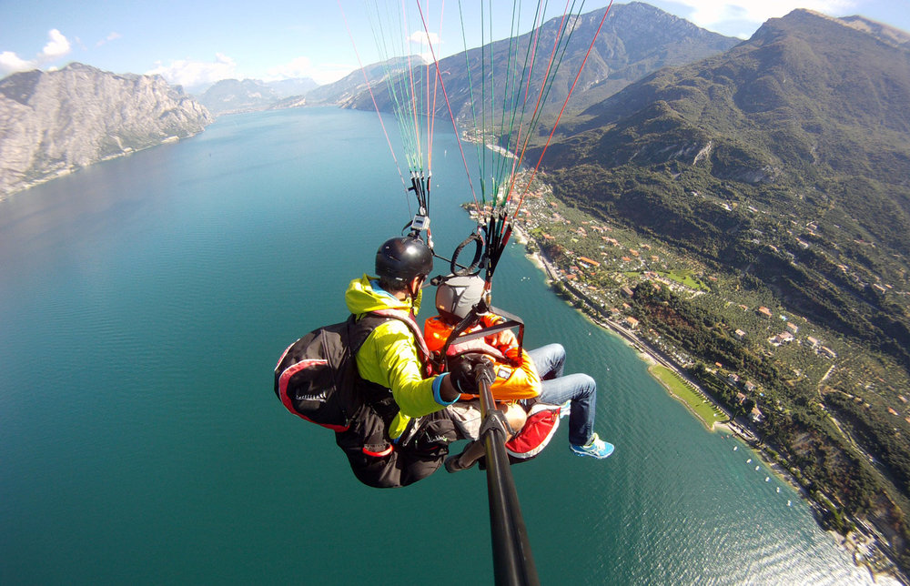 Paragliding in Malcesine