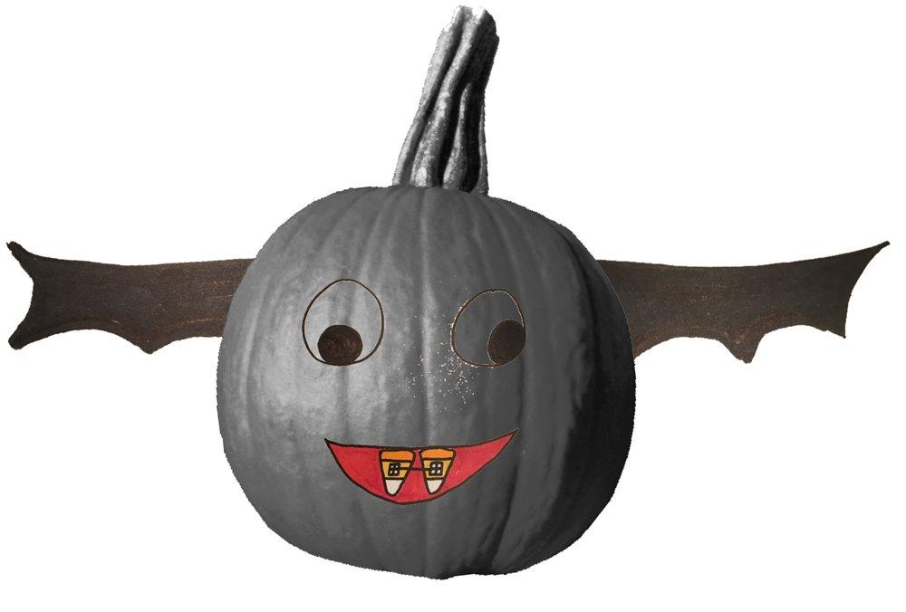 Orthodontia Vampire Pumpkin: Side 2