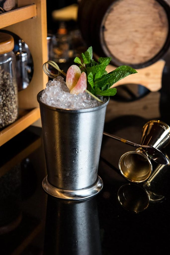 Grand Peach Julep (credit: Mint Leaf)