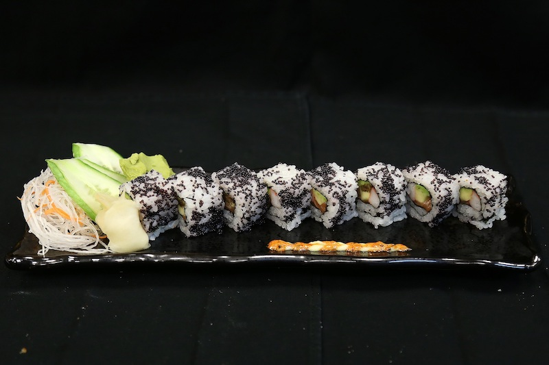 The ebi tempura roll (photo credit: Vii Dubai)