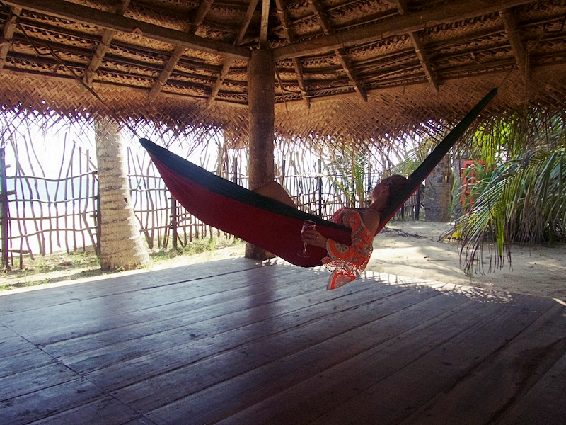 Just you, a hammock, and a glass of wine…just as life should be!