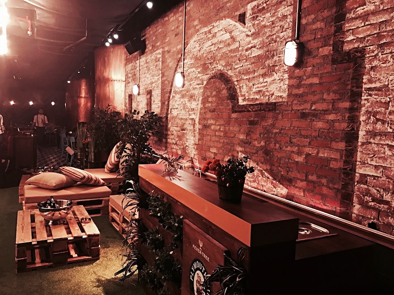 Catch's cool industrial interior