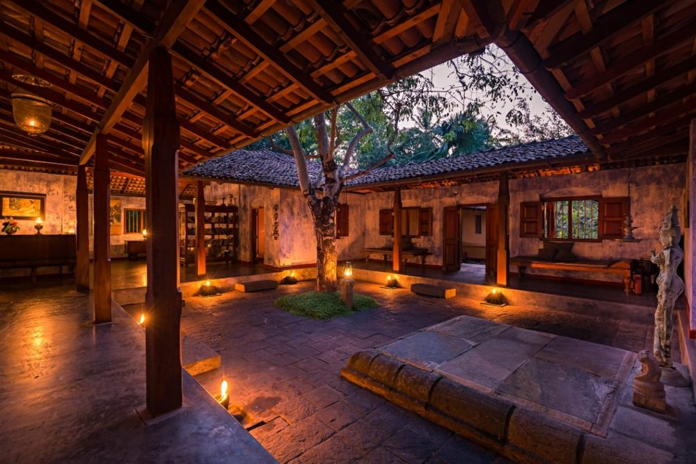 The courtyard within the Main House (credit: Ulpotha)