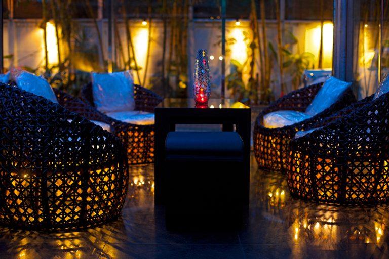 After dark at ZAZA Bar (credit: CCC)