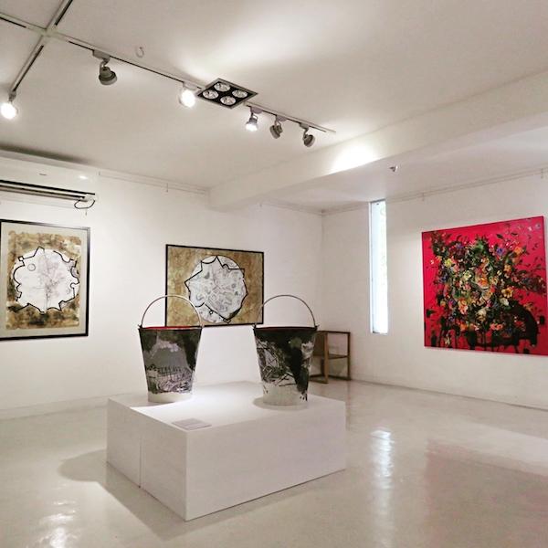 Inside the contemporary Saskia Fernando Gallery