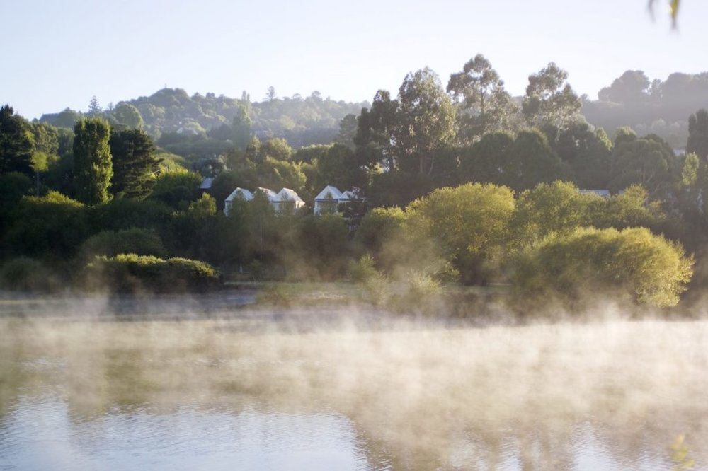 Make a quick escape from the city and head to Lake Daylesford (photo provided by Lake House)
