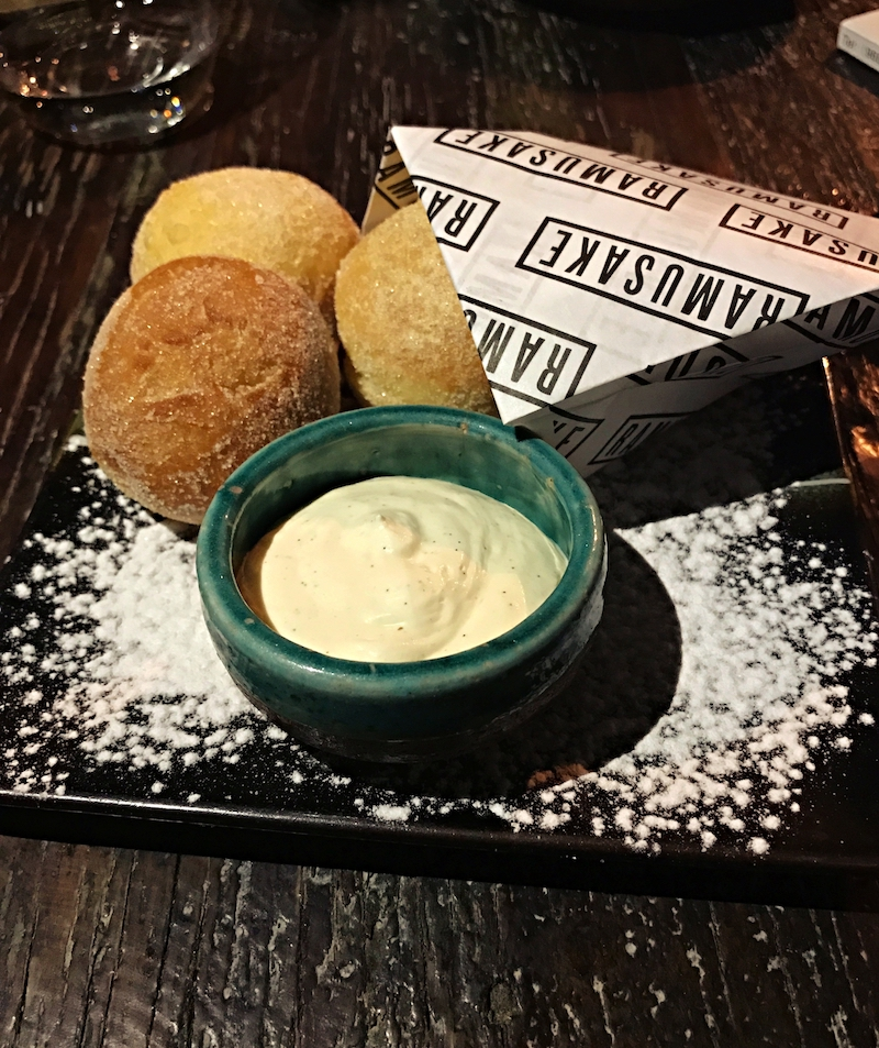 The fab Kinako Doughnut dessert