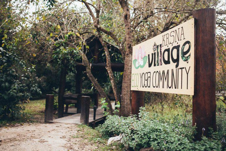 Welcome to Krishna Village (photo credit: Krishna Village)