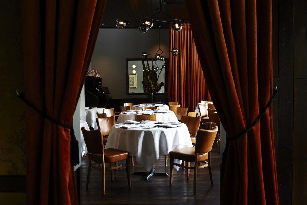 Matteo's dining room (photo: Matteo's)