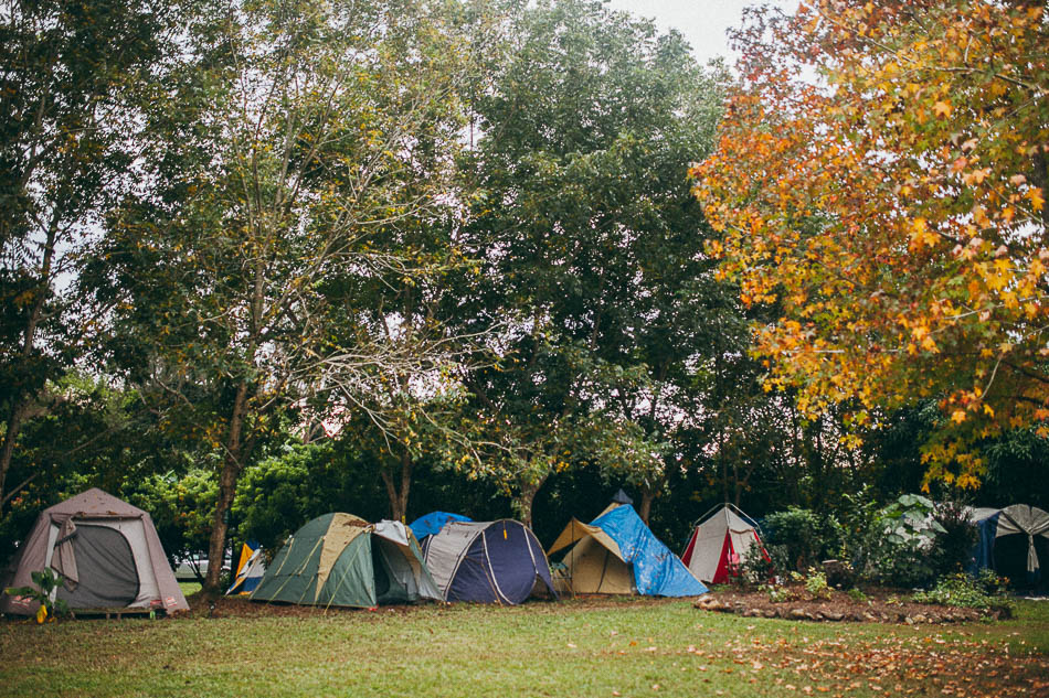 The campsite at the village (photo credit: Krishna Village)
