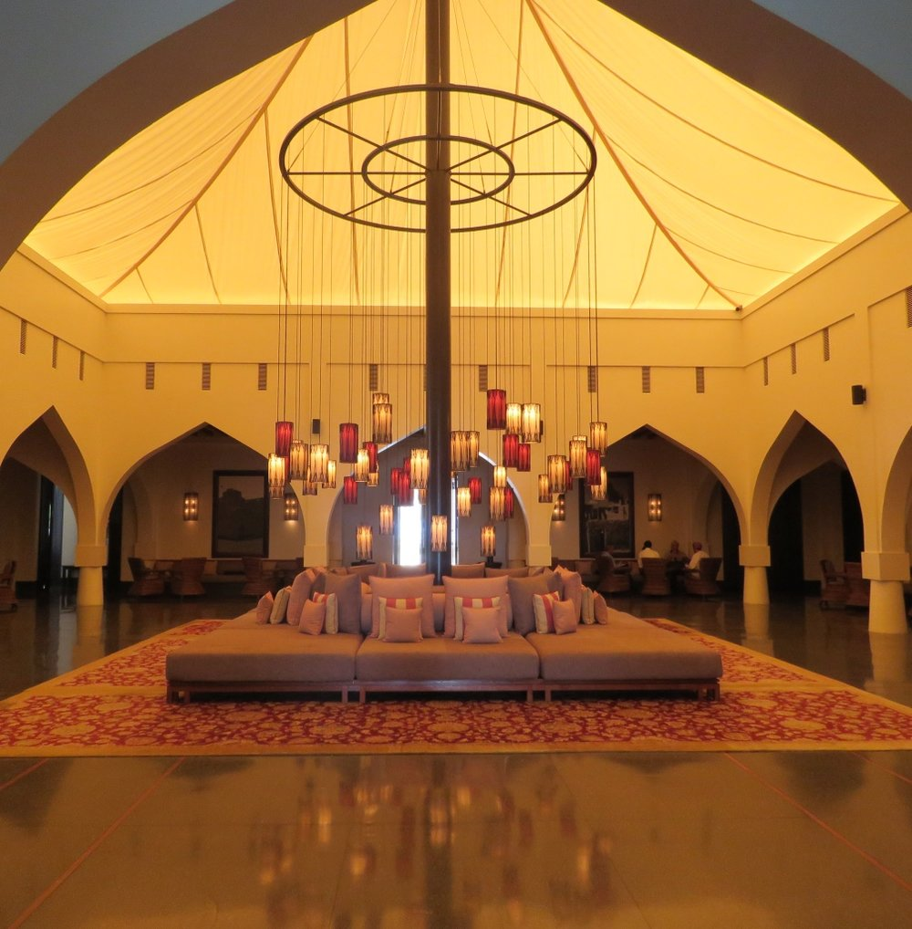 The statement-making domed lobby