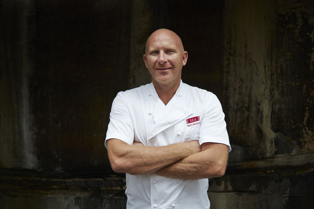 Chef Matt Moran (photo credit: ARIA)