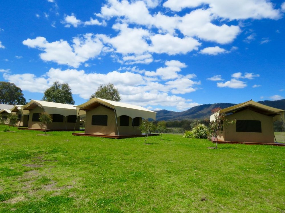 Going glamping at the Canopy Eco-Lodge