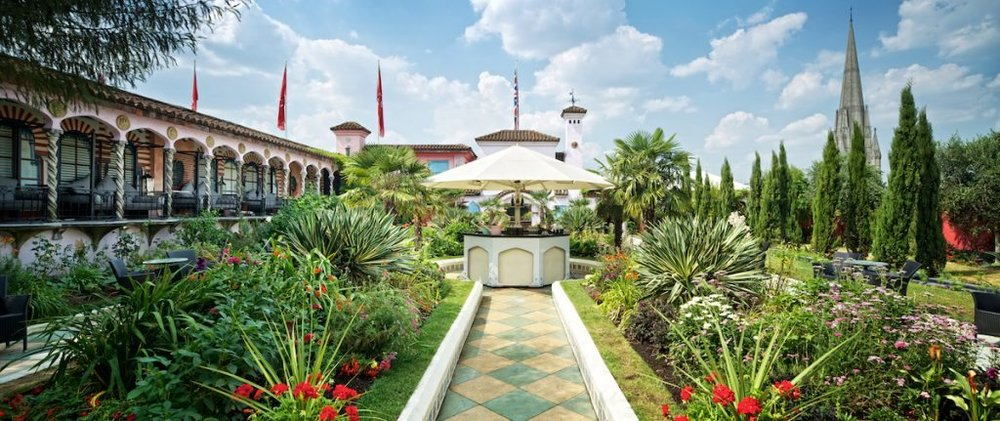 Spanish Garden at The Roof Gardens