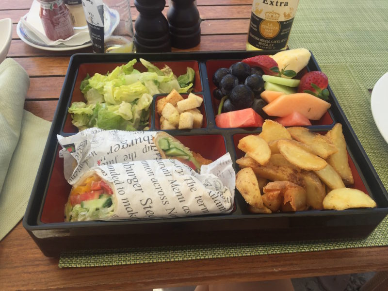The bento box lunch at Zanzi Bar – so delish!