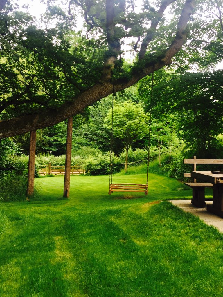 At Dewsall, you're surrounded by lush greenery wherever you look!