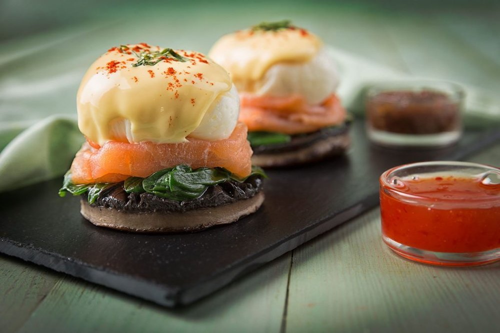 The Montauk Eggs (which were eaten too quickly to get photographed so here's a photo from the cafe's website)