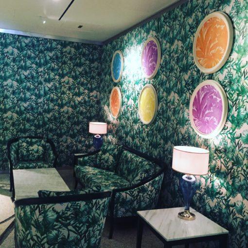 The jungle-themed Giardino