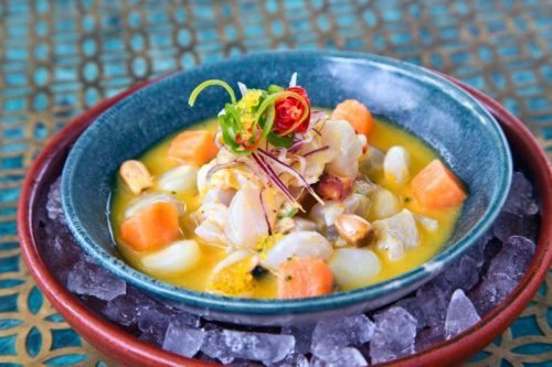 Ceviche at Coya