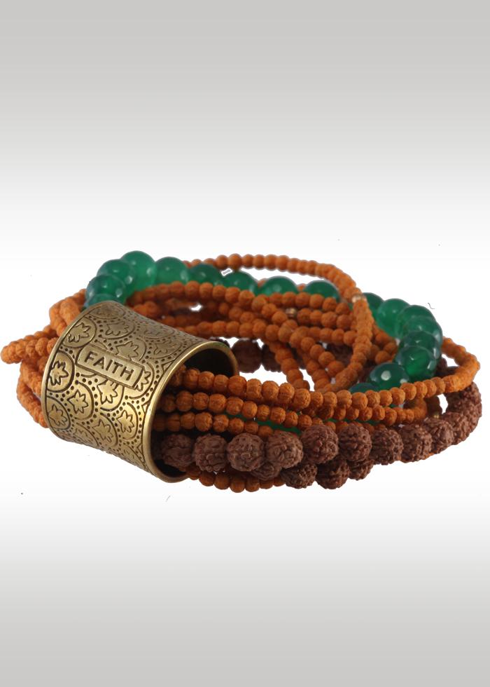 Shivaloka - Faith & Patience bracelet