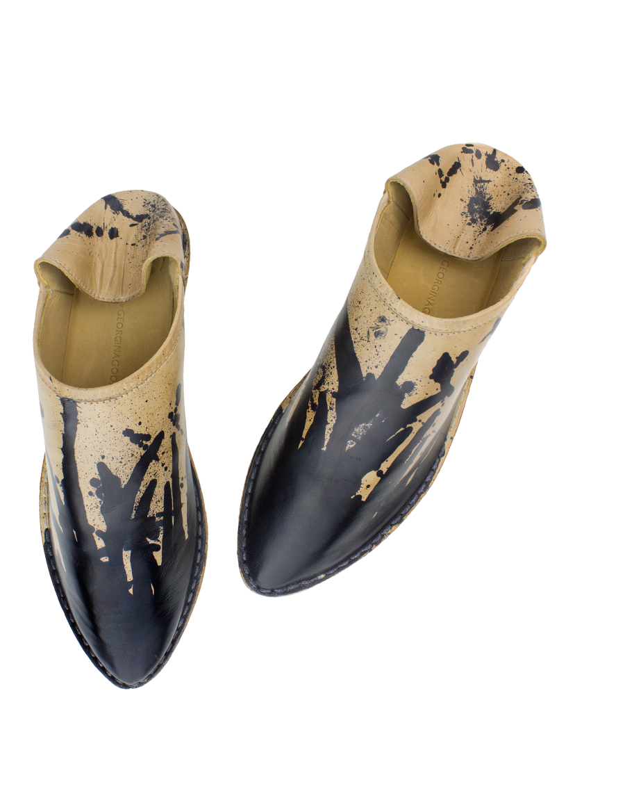 Georgina Goodman - Hand-painted Splash Slipper