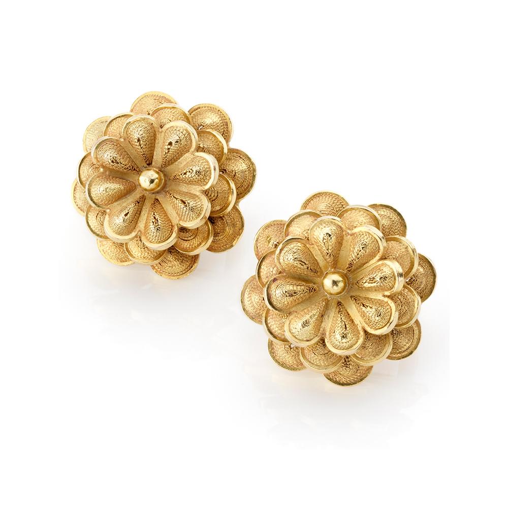 Dayan Candamil - Flower Earrings