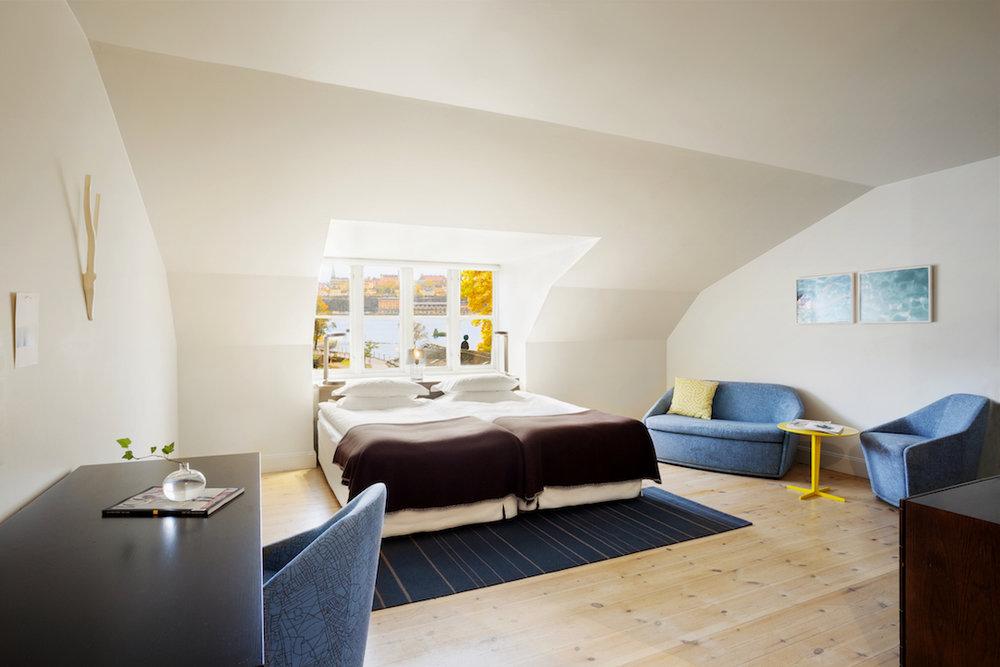 Deluxe Double Room Sea & Garden (photo Beatrice Graalheim)