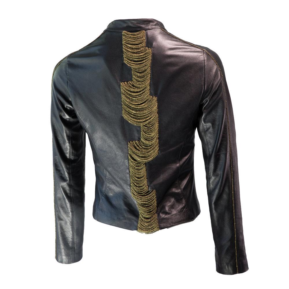 Nadjarina - Chained Biker Jacket