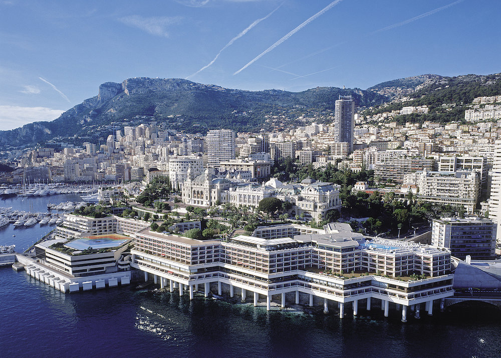 An aerial view of Fairmont Monte Carlo  (photo supplied)