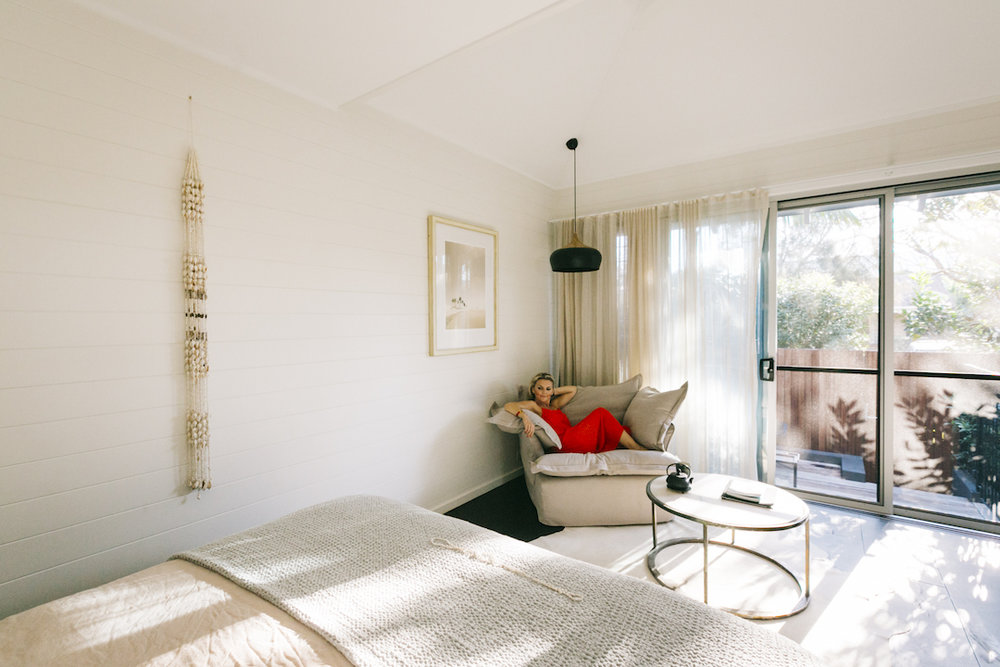 The perfect set up for an afternoon lounge  (photo by Kate Holmes)