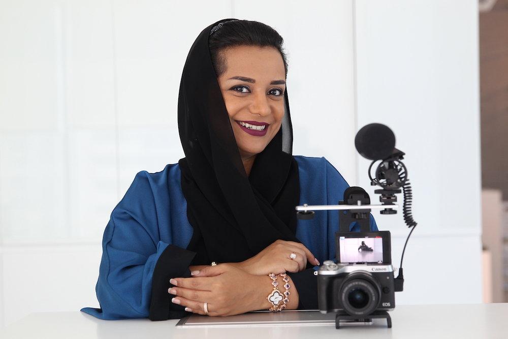 The ambitious, creative, and humble Nayla Al Khaja  (photo supplied)