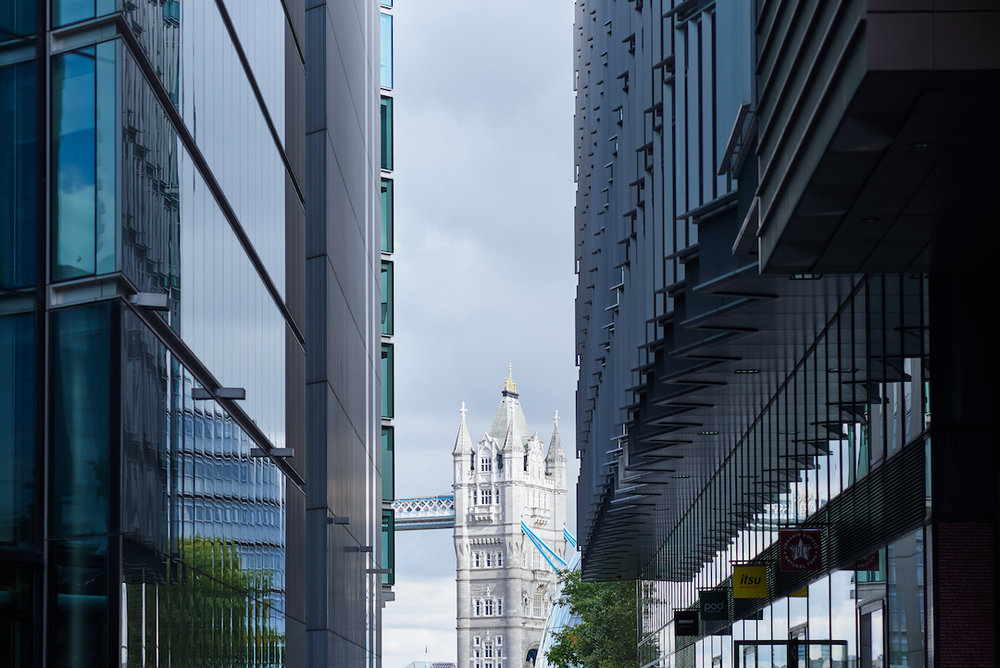 Tower Bridge is literally right there.  (photo supplied)