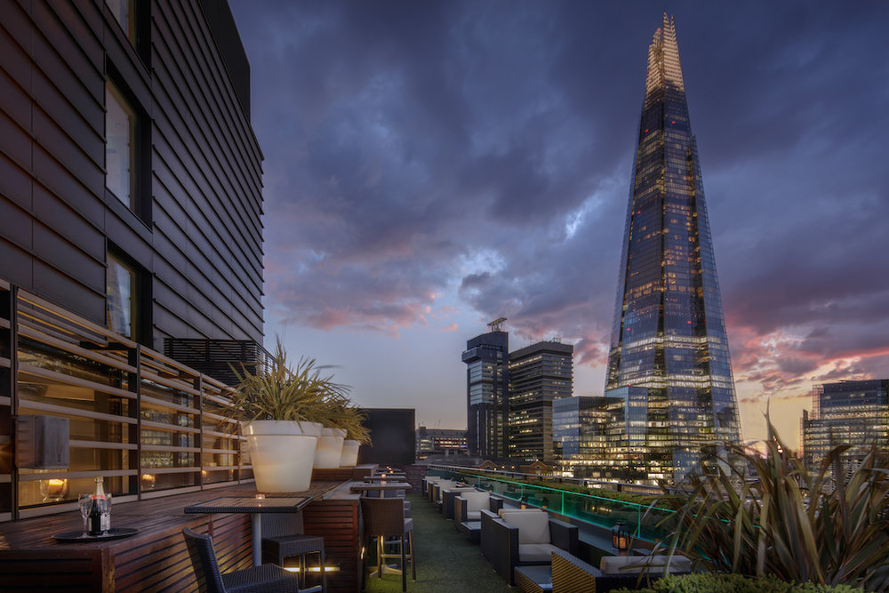 The Executive Lounge on the 9th floor has another secret perk - stunning views from its terrace.  (photo supplied)