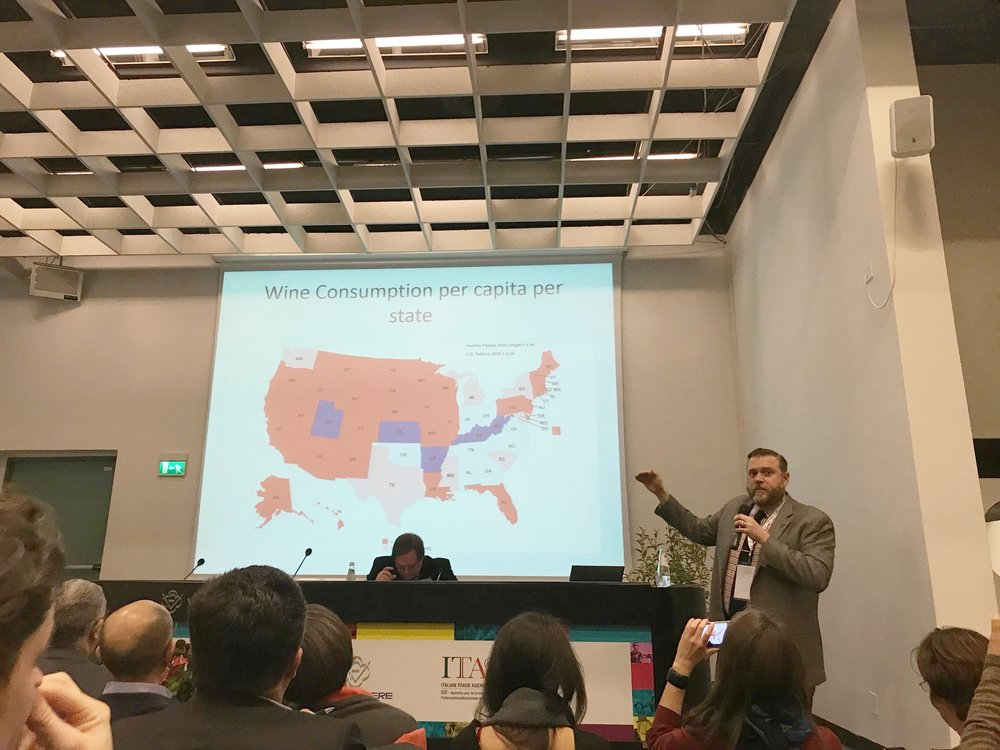 Armed with statistics at Wine2Wine in Verona, Jeffrey Porter shed light on minor markets where economic growth and demographic shifts are reshaping the map of fine wine distribution nationwide.
