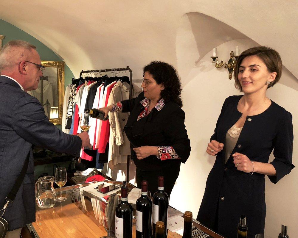 Paola Riccio, Alepa (Campania)& Giovanna Paternoster, Quarta Generazione (Basilicata).