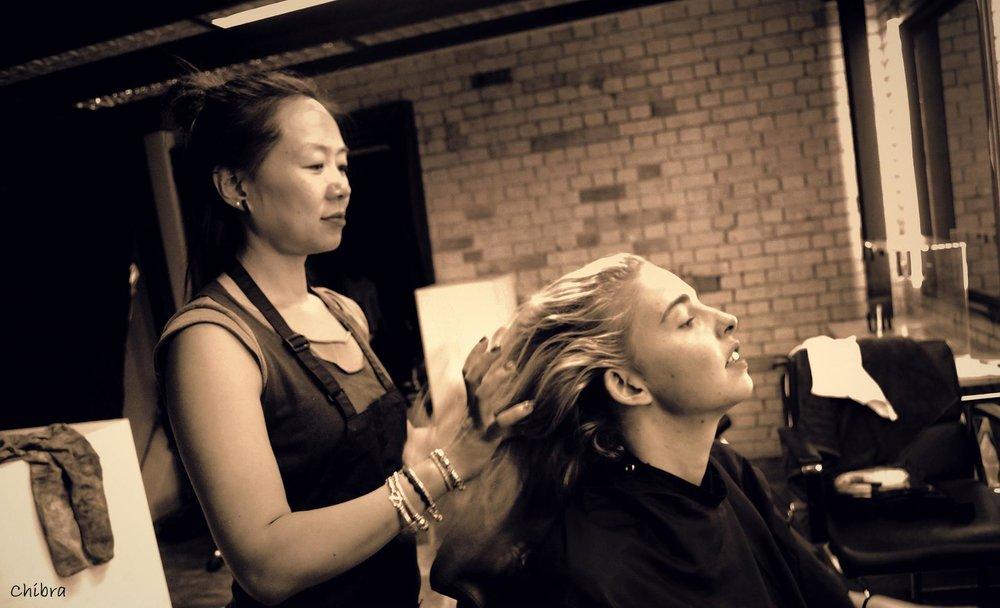 Julie hair and makeup