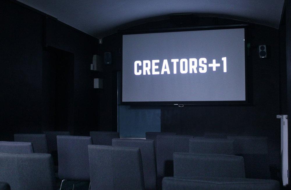 Pifa's cinema w/5.1 surround sound.