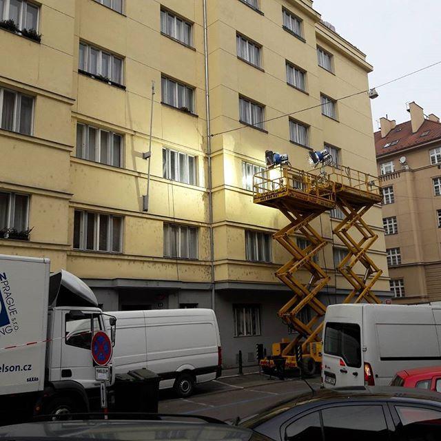 More filming in Prague ;)
