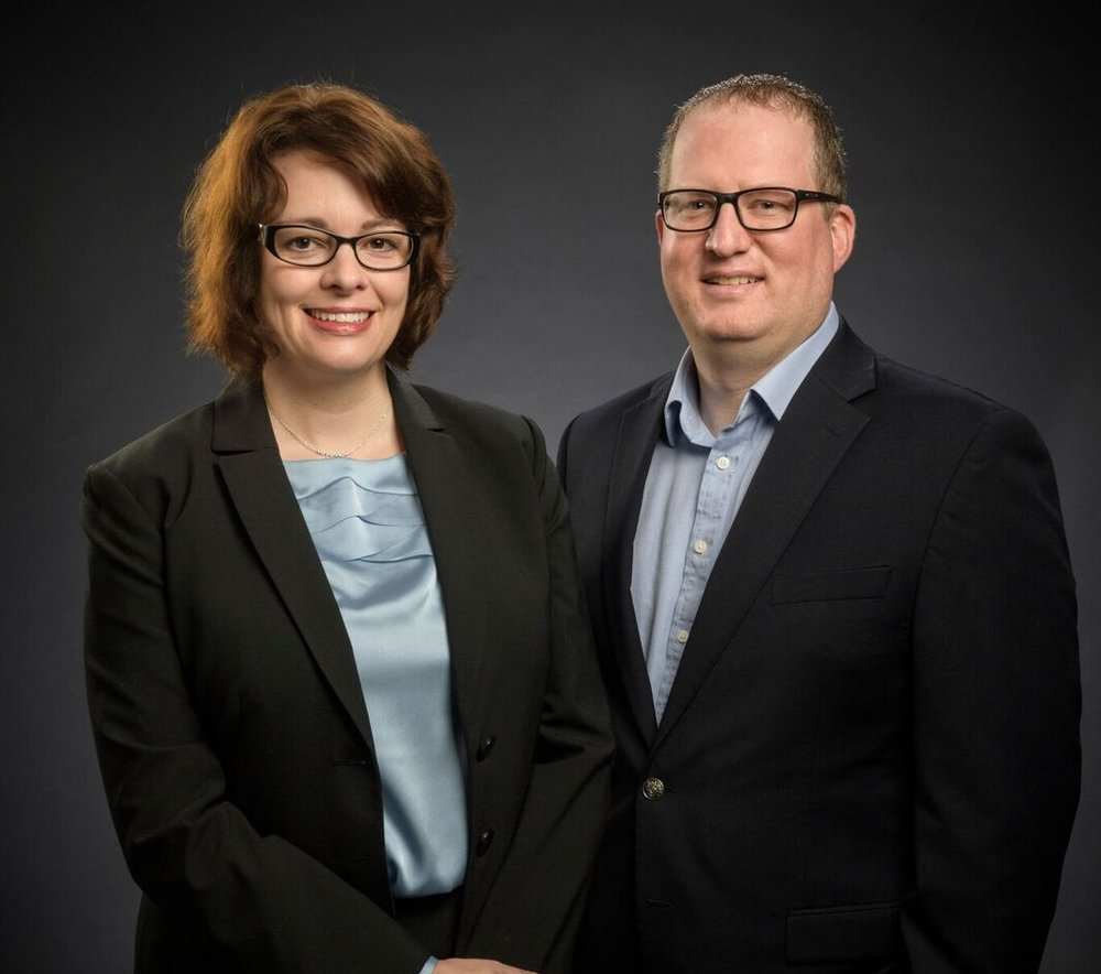 DR.TRACY JOHNSON-HALL AND DR. DAVID HALL.
