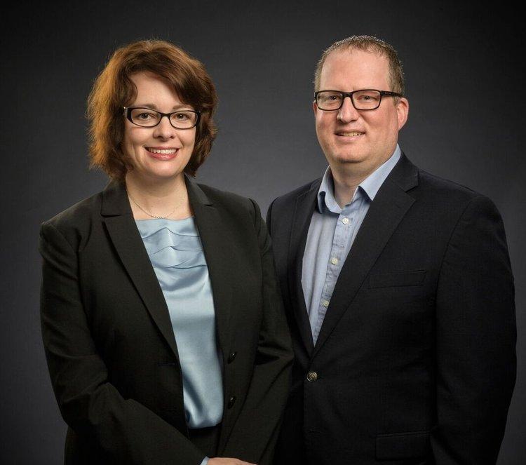 Dr. Tracy Hall-Johnson, Dr. David C. Hall.