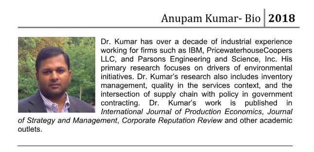 Dr. Anupam Kumar,