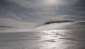 Foto: Jan Nordvålen - Mot Svarthammaren