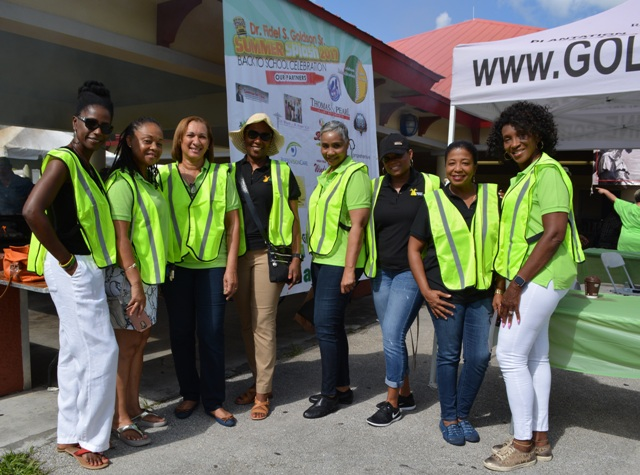 Jamaican Women of Florida 2017 Goldson Spine Back To School Drive
