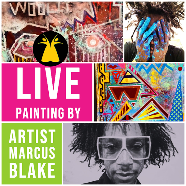 Live Painting to be raffled! You have to be there to win! So, get your tickets today!